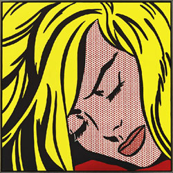 Sleeping-Girl-by-Roy-Lichtenstein